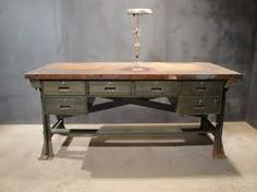 french industrial furniture - Google Search