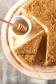 ... layer honey cake ...