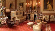 The Baron's Room at Waddesdon Manor in Waddesdon, Buckinghamshire, England