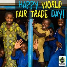 This World Fair Trade Day, remember that TOGETHER we can make the world a better place if we choose fairness! http://BeFair.org/ #WorldFairTradeDay