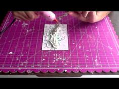 ▶ Irina Gerschuk - step-by-step tutorial - flourish card