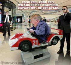 Vrroom vroom seen out side NATO headquarters making America Great Trump Cartoons, Political Cartoons, Political Satire, Caricatures, Tiny Trump, Donald Trump, Donald Duck, Presidents, Hilarious