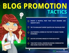 Blog Promotion Tactics!