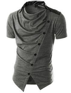 AHKIRA Men's Draped Stylish Jacket like T-shirt LIGHTGRAY M AHKIRA http://smile.amazon.com/dp/B00KNW9SOO/ref=cm_sw_r_pi_dp_Nrsbub1XQ87M0