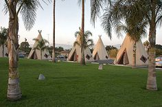 Wig Wam Hotel in San Bernardino