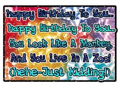 Funny Happy Birthday Quotes   Funny Birthday Quotes with Pictures