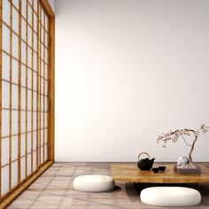 japanese home decor Japanese Minimalist Decor Japanese Minimalist, Minimalist Living, Minimalist Decor, Modern Living, Modern Japanese Art, Modern Minimalist, Japanese Wall, Minimalist Bedroom, Japanese Interior Design