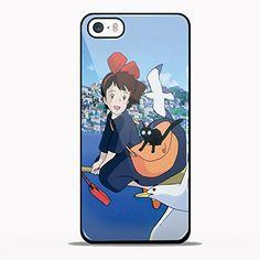 Studio ghibli, Kiki's delivery service Design GNO for iPhone 5/5s Black case