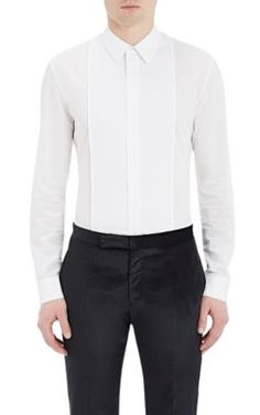 MAISON MARGIELA Pintuck-Pleated Voile Shirt. #maisonmargiela #cloth #shirt
