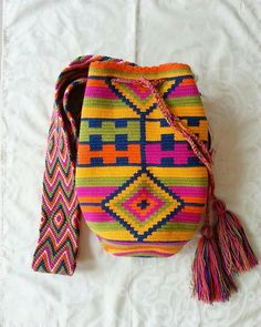 Wayuu Tasche / handgewebt in Kolumbien / indigenen von CasaLunaCo