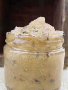 Lavender honey body scrub