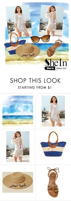 """""""She in"""" by monika2406 ❤ liked on Polyvore featuring San Diego Hat Co., Hat Attack, Stuart Weitzman and Bulgari"""
