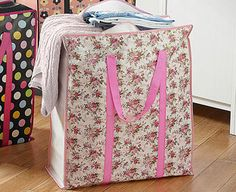 Original Gift Company Giant Storage Bag Clutter taking over? This giant storage bag will soon help you reclaim your space. Choose from three bright designs