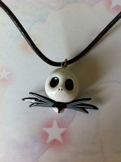 Nightmare before christmas jack skull charm tim burton skellington kitsch goth emo fantasy