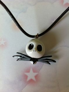 Nightmare before christmas jack skull charm tim burton skellington kitsch goth emo fantasy
