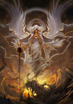 Angel intimidante