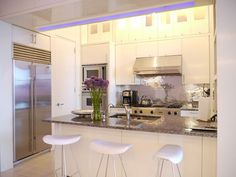 Architect & Designer: Campion Platt... Love the white, the brightness and the reflective surfaces.