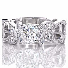 1000 images about cushion cut engagement rings on