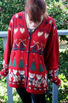 Teddies 'n Hearts Ugly Christmas Sweater