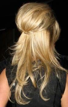 Add a braid and curls