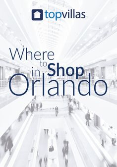 If you love to shop, Orlando is the place for you. Malls, markets and boutiques can be found around every corner, and there's no shortage of unique souvenirs to pick up during your travels.