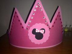 Corona Minnie de goma eva