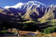 Winter in Tulbagh - Western Cape - South Africa Sa Tourism, Provinces Of South Africa, Countries Of The World, Holiday Destinations, Small Towns, Beautiful Places, African, Landscape, Homeland