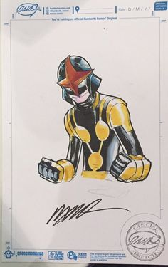 Nova by Humberto Ramos                                                                                                                                                                                 More