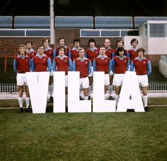 Aston Villa pose for their pre-season team photoback row, 1971 Best Football Team, Retro Football, Team Pictures, Team Photos, Aston Villa Team, Top Soccer, Football Images, Coventry City, Best Club