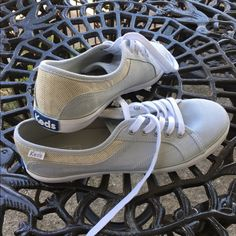 Keds shoes New without box. Keds size 7.5. Light gray and white. keds Shoes Sneakers