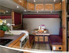 ARI Legacy Sleepers manufactures high-end custom sleepers for semi trucks.
