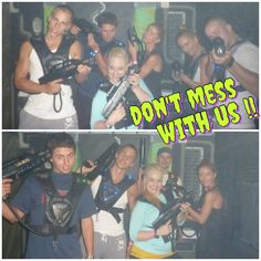 our teambuilding - laser tag arena
