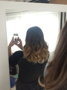 My new ombre