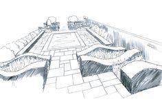 Garden Drawing 1