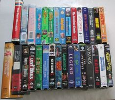 Lot of 31 VHS Video Tape Movies Horror Scifi Cult Comedy Weird Comedy Cartoon