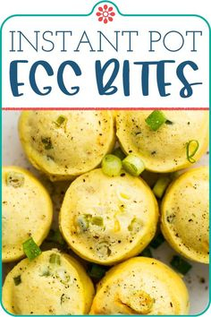 Instant Pot Egg Bites Pressure Cooker Recipes, Pressure Cooking, Starbucks Egg Bites, Instant Pot Dinner Recipes, Simply Recipes, Low Carb Recipes, Ketogenic Recipes, Egg Recipes, Diabetic Recipes