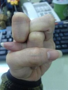 Can you do this with your fingers ?