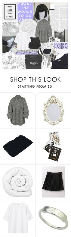 """""""-- the ones that you call your friends"""" by feels-like-snow-in-september ❤ liked on Polyvore featuring Enchanté, Michael Kors, Chanel, Assouline Publishing, Brinkhaus and Monki"""