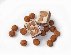 Sinterklaas chocoladeletter stempels Sint & Piet door ikstempel