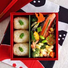 Rice ball bento/おにぎり弁当
