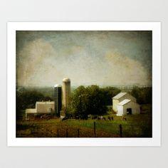 An Amish Farm Art Print by Nichole Renee Photography - $18.00