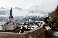 Pre-wedding couple photo shoot in Hallstatt Wedding Couple Photos, Wedding Couples, Austrian Village, Cloudy Weather, Elopement Ideas, Before Sunrise, Stay The Night, World Heritage Sites, Photo Sessions