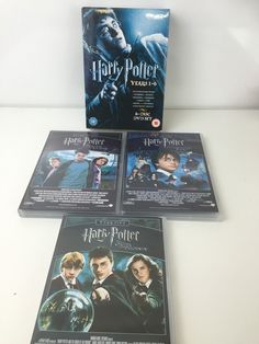 Harry #potter #collection - #years 1-6 (dvd, 2009, 6-disc set, box set),  View more on the LINK: http://www.zeppy.io/product/gb/2/252738475743/