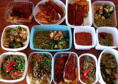 Veganska proteinrika matlådor för hela veckan