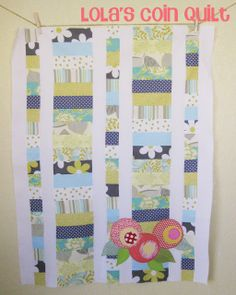 Quilt Story: Lola's Quilt and a Winner!