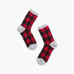 Buffalo Check Trouser Socks