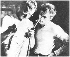 Marlon Brando and James Dean!