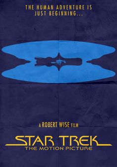 Star Trek - TMP - Minimalist Poster by on DeviantArt Star Trek Bridge, Star Trek Tv, Star Trek Movies, Star Trek Ships, Star Trek Posters, Robert Wise, United Federation Of Planets, Star Trek Characters, Love Film