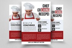 Cooking Coaching Classes Flyer  by Business Flyers on @creativework247