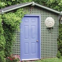 Customized Garden Shed
